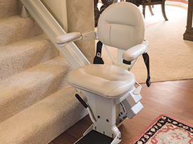 KRAUS BRUNO.COM SAN DIEGO CHAIR STAIRWAY CURVED STAIRLIFT